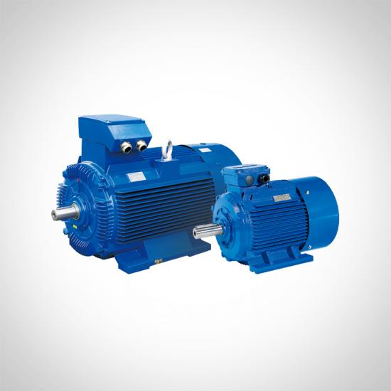 Two Speed Three Phase Motor Double Speed